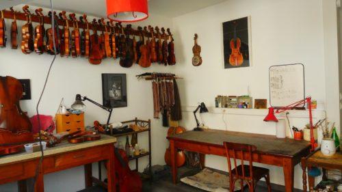 L'atelier de lutherie Franck Chauty